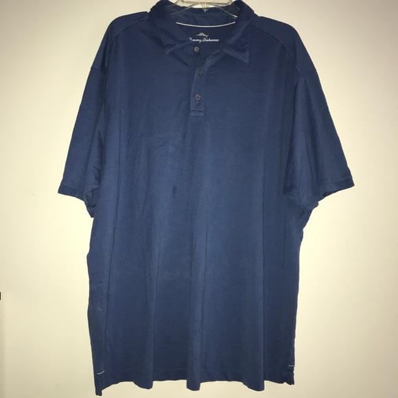 3360b37c Tommy Bahama Shirts | Mens Polo Shirt Pima Soft Touch Logo | Poshmark